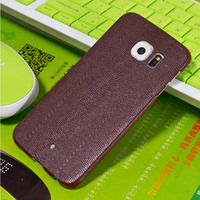 Ultra Thin Crocodile PU Leather Phone Case For Samsung Galaxy S6 Edge