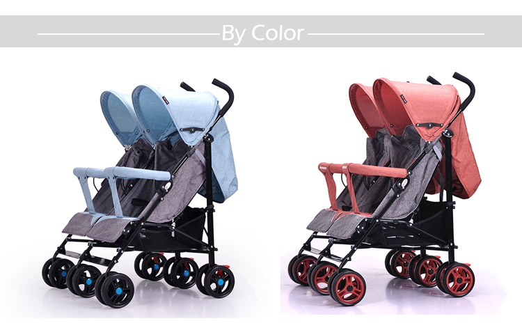 Alibaba trade assurance china factory foldable double car seat luxury baby stroller for tiwns
