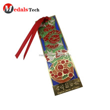 Different shape brass material die casting fashion shapes metal bookmarks