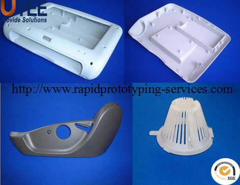 cnc plastic prototype service , rapid manufacturing low volume production