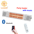 Liangdi Patio Halogen Heater Waterproof Infrared Equine Heater