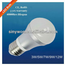 Sinywon High Quality E27 5W LED Bulb huizhuo lighting