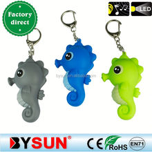 New marine animal sound seahorse led flashlight
