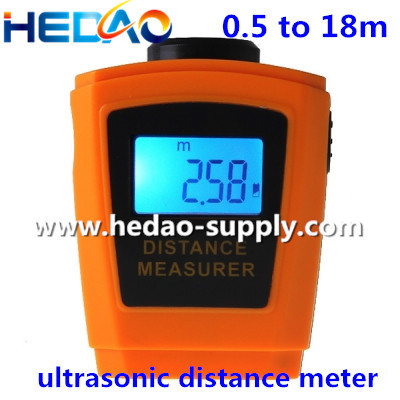 Ultrasonic distance measurer / measuring diameter instrument