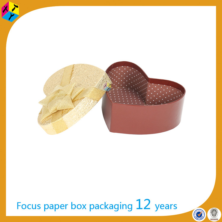 paper packaging heart shaped chocolate box manufacturer in uae