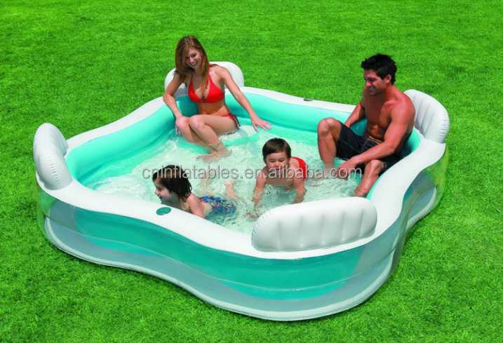 Intex Swim Center Family Lounge Inflatable Pool