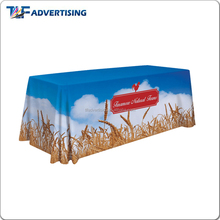 Hotel party extra long tablecloth with customized logo