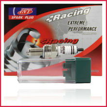 LIBEN iridium Top MOTORCYCLE Spark Plugs EIX-CR8 for NGK spark plug CR8EIX