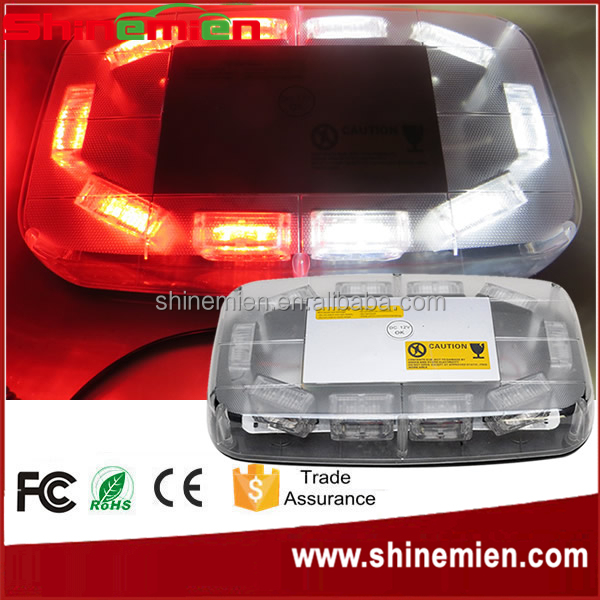 11'' 30 LED Strobe Mini Light Bar LED flashing lightbar/ used Emergency Warning Beacon With Strong Magnet