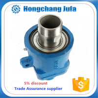 50A ductile iron pipe fitting coolant water rotary joint for machine