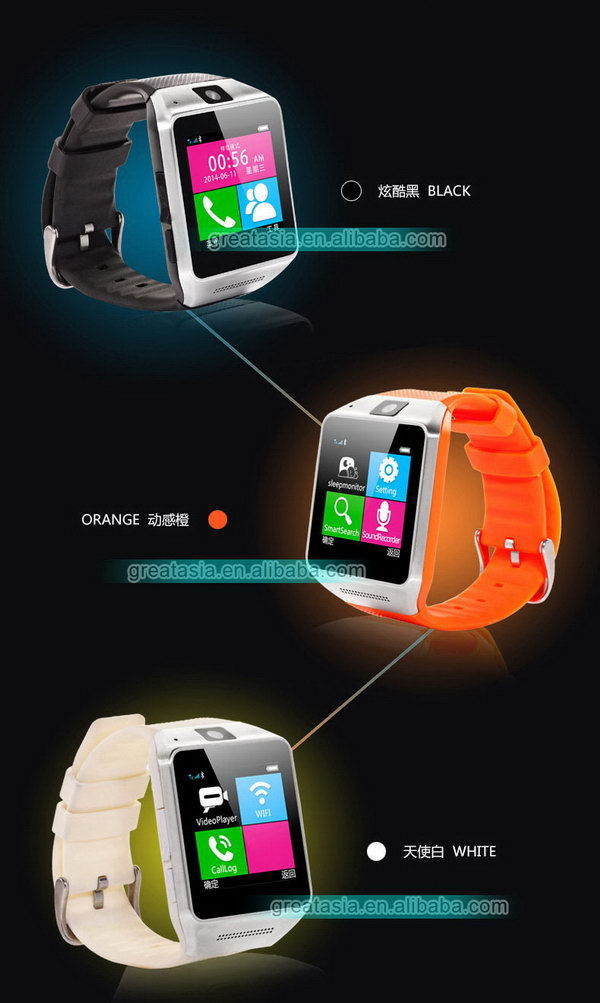Cheap hot sell for android 4.0 2g watch phone