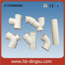 ASTM SCH40 80 AS BS DIN Standard PVC pipe and PVC pipe Fittings