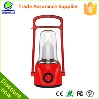 Solar LED Flashlight Lantern and Emergency light Rechargeable with AM/FM Radio Emergency Light