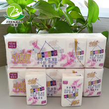 Soft decorative pocket tissue