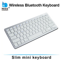 Portable Mini Keyboard Mini Wireless Bluetooth 2.4G Keyboard For PC