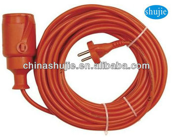 cixi sj-20 Standard VDE rubber extension cord;extension cord reel