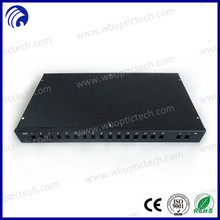 "Supply High Qulaity 1U 19"" 16 port SC Simplex Type PLC Splitter Coupler /2*16 port ODF Price Box Fiber Optic Patch Panel"