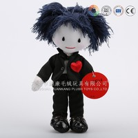 Customized cute soft cotton stuffed dolls for sale