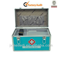 Emergency Treatment Tool Kits Boxes Aluminum First Aid Kit MLD-AC722