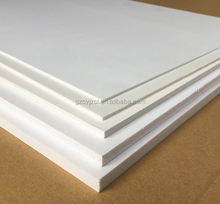 cheap solid / crust / rigid pvc foam board for sign board, bill board advertising