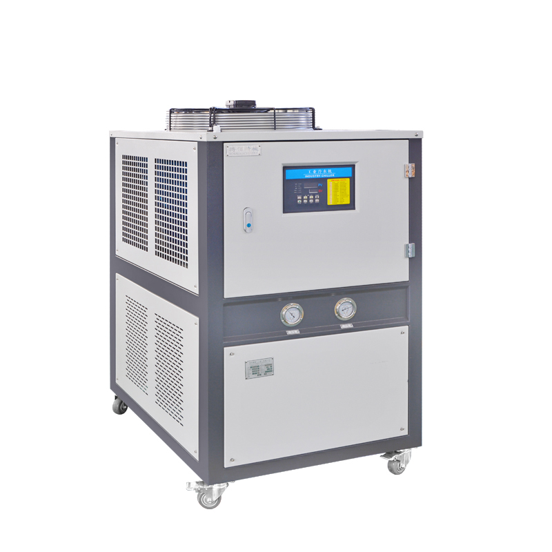 Glycol mini air cooled milk chiller from shanghai