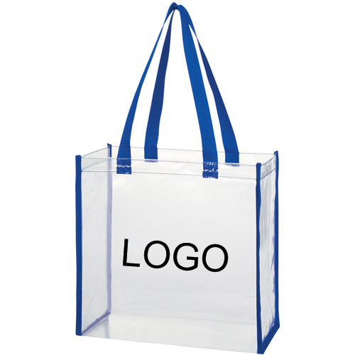 Fashion Clear Pvc Transparent Tote Shopping Bag - Buy Clear Pvc ...