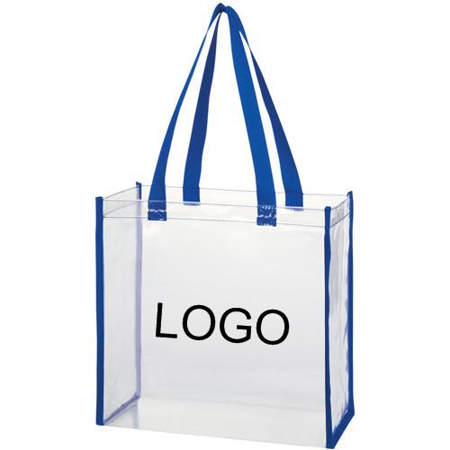 Fashion Clear Pvc Transparent Tote Shopping Bag - Buy Clear Pvc ...