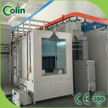 complete automatic powder coating line spraying equipment suppliers