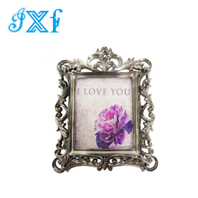 Custom Vintage Polyresin Photo/Picture Frame for Home Decor