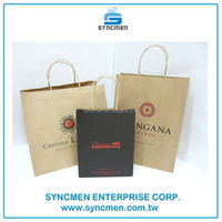 Machine Making Brown Kraft Paper Bags with Different Handle Types