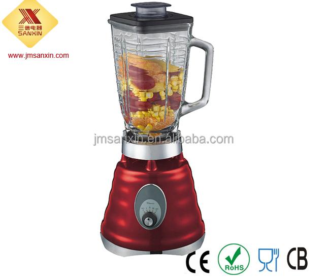 High Powered Blender ~ High power ml glass jar commercial blender buy