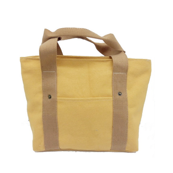 High quality casual canvas tote bag for daily time with custom printed logo