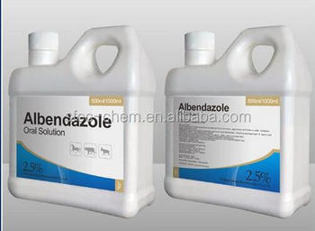 Albendazole oral solution for Cattle Sheep Camel