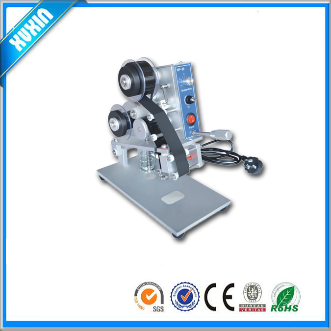 Desktop Hot Stamping Foil Expiry Date Printing Machine/ribbon typewriter