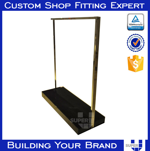 tailor made super u high quality clothing hanging rails
