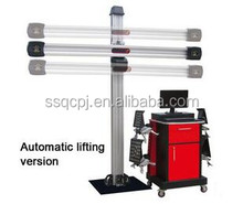 3D John bean system wheel alignment and balancing machine
