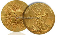brass gold silver and 3D eagle racing military metal silver medal with ribbon