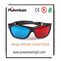 promotion cheap funny 3D Plastic paper anaglyph Glasses