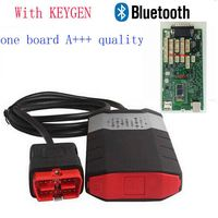 Quality A+++ one Single green board ds150 For Delphis DS150e For CDP Pro Plus with Keygen with bluetooth OBD2 Diagnostic Tool