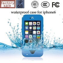 Hot selling for waterproof iphone 6 case/for iphone 6 waterproof case cover