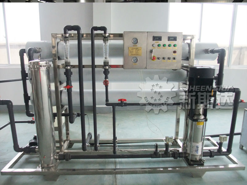 5T/H RO Purified Water Treatment Units