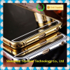 Ultra thin metal case cover Acrylic mirror surface hard gold case for iPhone 6