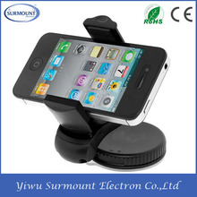 mobile phone accessories factory in China 360 Degree Rotating Dashboard/Windshield Mount Car Cell Phone Holder