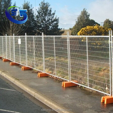 TF2421 Decorative High Security Galvanized Steel Wire Mesh Temporary Construction Garden Fence Panel