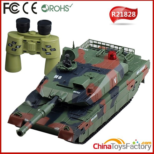 R21828 8 Channel RC Battle Army Tank 1 32 Scale RC Tank