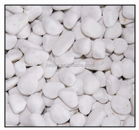 wholesale snow white pebble stone,natural wash pebble