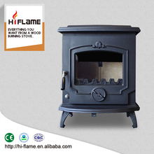 5-8kw antique Cast Iron fireplace wood fireplace for indoor HF233