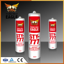 Popular Transparent Acid Glass Acetoxy Silicone Sealant