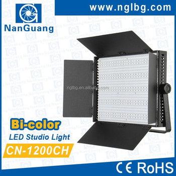 Nanguang CN-1200CH LED Studio Lighting Photographic Equipment, and Video Lighting