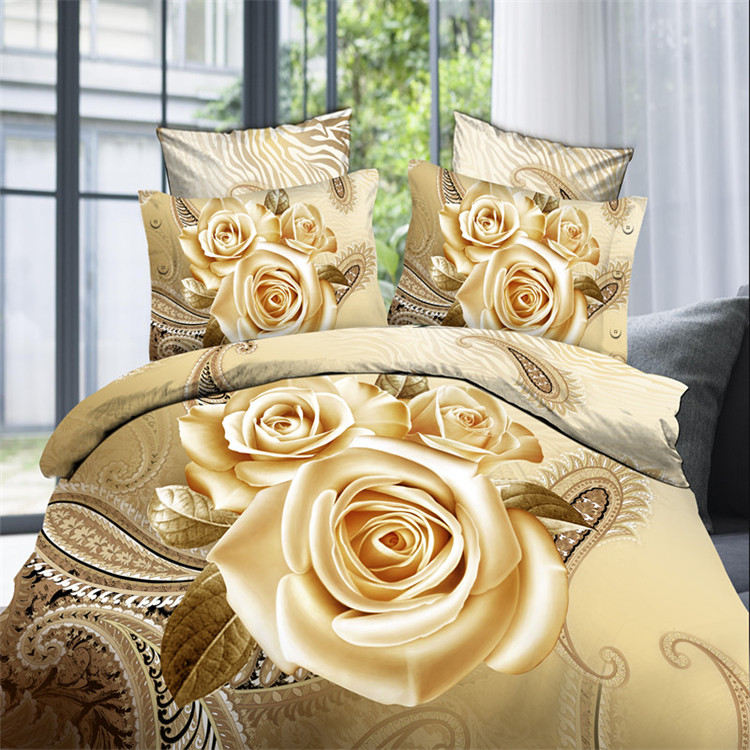 Factory Manufacture 3D Printed Bedding Set